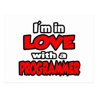 Estoy en amor con un programador postales