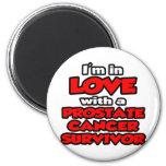 Estoy en amor con un superviviente del cáncer de p imanes de nevera