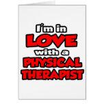 Estoy en amor con un terapeuta físico felicitaciones