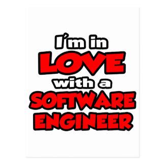 Estoy en amor con una Software Engineer Postales
