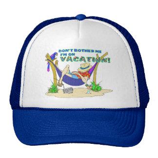 Estoy en el gorra de las vacaciones
