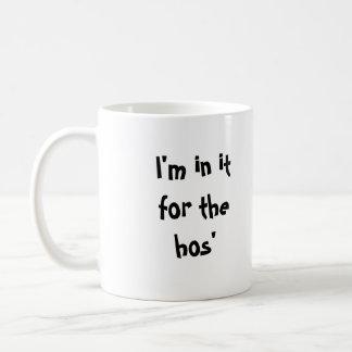 Estoy en él para los hos taza