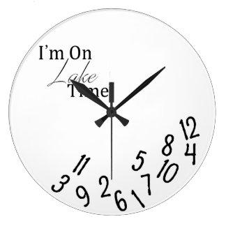 Estoy en el reloj de tiempo del lago