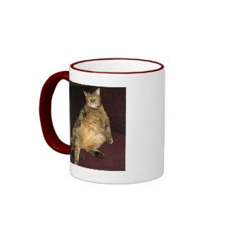 Estoy en esta tarjeta estúpida taza de café