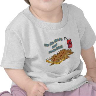 Estoy en la dieta del PJ y de la soda Camisetas