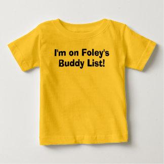 ¡Estoy en la lista del compinche de Foley! Camiseta