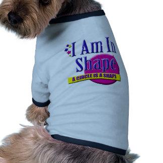 Estoy en lema de la aptitud de la forma camiseta de perrito