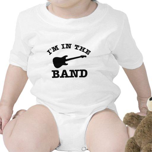 Estoy en los diseños de la guitarra eléctrica de l trajes de bebé