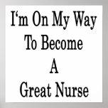 Estoy en mi manera de hacer gran enfermera poster