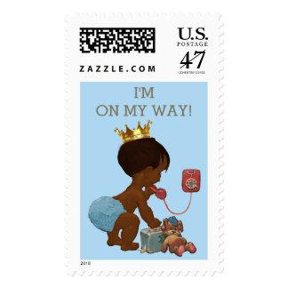 Estoy en mi príncipe étnico de la manera en fiesta sellos postales