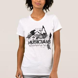 Estoy en músicos camiseta