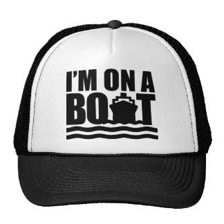 Estoy en un barco gorros