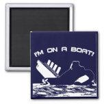 Estoy en un barco imanes