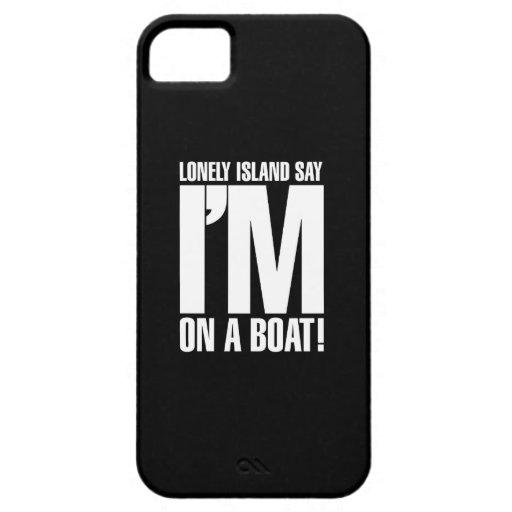 Estoy en un barco iPhone 5 cobertura