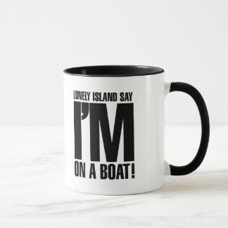 Estoy en un barco taza