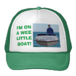 Estoy en un pequeño barco pequenito gorros bordados