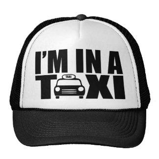 Estoy en un taxi gorras