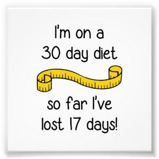 Estoy en una dieta de 30 días fotos