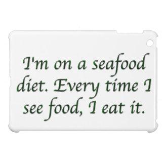 Estoy en una dieta de los mariscos