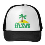 Estoy en una isla gorros