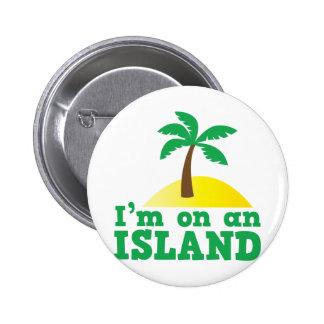Estoy en una isla pin redondo de 2 pulgadas