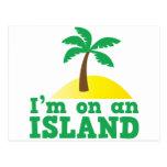 Estoy en una isla postal