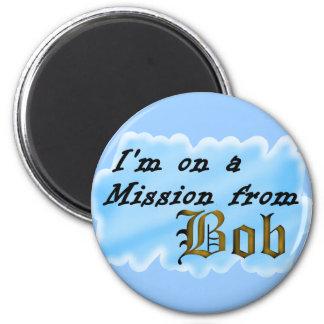 Estoy en una misión de Bob. Iman De Nevera