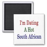 Estoy fechando un surafricano caliente imán de frigorífico