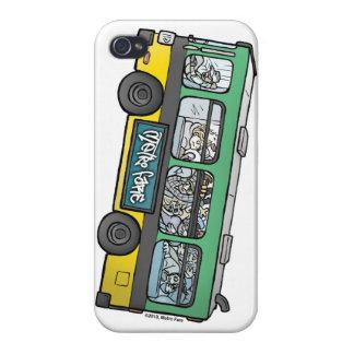 """""""Estoy hablando en caso del iPhone 4 del autobús"""" iPhone 4/4S Carcasa"""