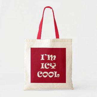 Estoy helado me refresco bolsas lienzo
