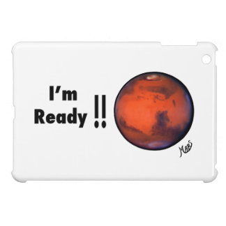 ¡ Estoy listo Caso del iPad de Marte mini iPad Mini Carcasas