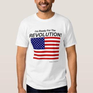 ¡Estoy listo para la revolución! Playera