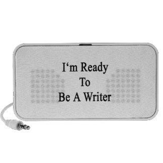 Estoy listo para ser escritor iPhone altavoz