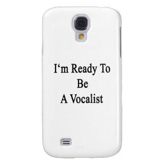 Estoy listo para ser vocalista