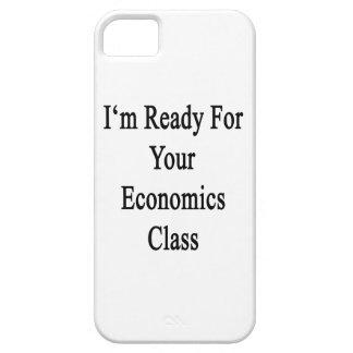 Estoy listo para su clase de la economía iPhone 5 carcasas