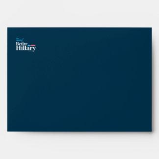 Estoy listo retiro a Hillary - Hillary anti