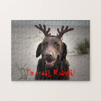 ¡Estoy listo, Rudolph! Rompecabezas