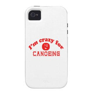 Estoy loco para Canoeing. Vibe iPhone 4 Carcasas