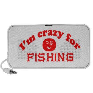 Estoy loco para pescar altavoz