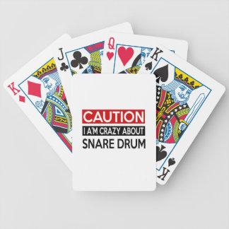 Estoy LOCO POR EL TAMBOR Baraja Cartas De Poker