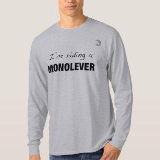 ¡Estoy montando un Monolever! Playera