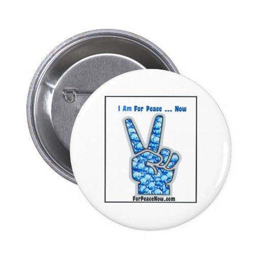 ¡Estoy para la paz - ahora! Pin