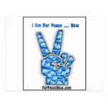 ¡Estoy para la paz - ahora! Postales