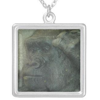 Estoy pensando en él el collar del gorila