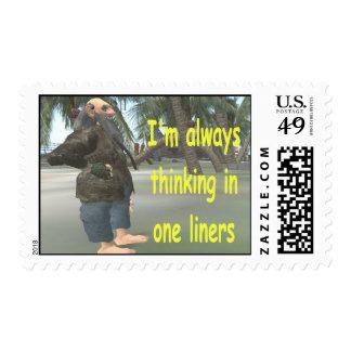 Estoy pensando siempre en los trazadores de líneas sellos