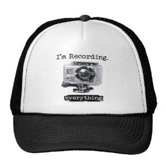 Estoy registrando todo gorra