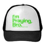 Estoy rogando el gorra del cristiano de Bro