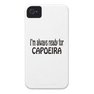 Estoy siempre listo para Capoeira. iPhone 4 Case-Mate Cárcasas