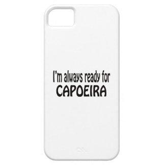 Estoy siempre listo para Capoeira. iPhone 5 Fundas