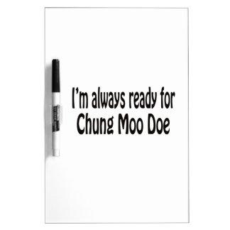 Estoy siempre listo para la gama del MOO de Pizarras Blancas